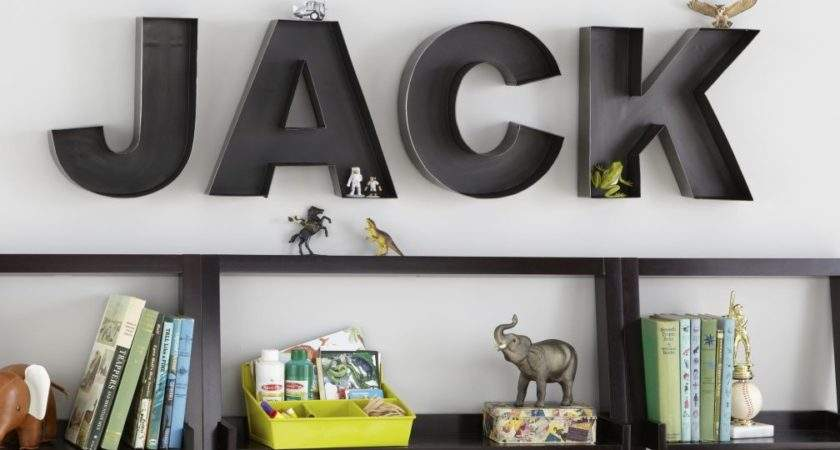 Wall Letters Wooden Land Nod