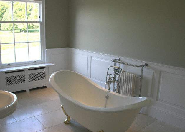 Wall Panelling Wood Panels Painted Bathrooms