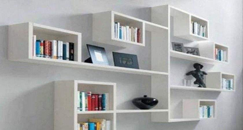 Wall Shelf Ideas Bedroom Living Room Diy Floating Shelves