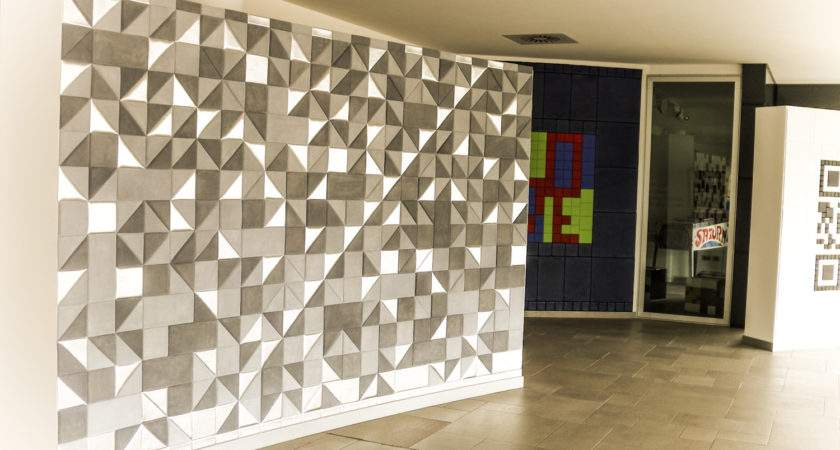 Wall Tiles Design Hall Creatively Different Ideas