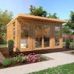 Waltons Insulated Garden Room Installation