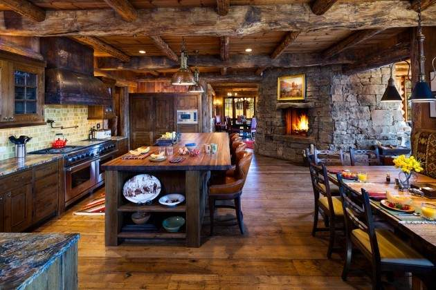 Warm Cozy Rustic Kitchen Designs Your Cabin