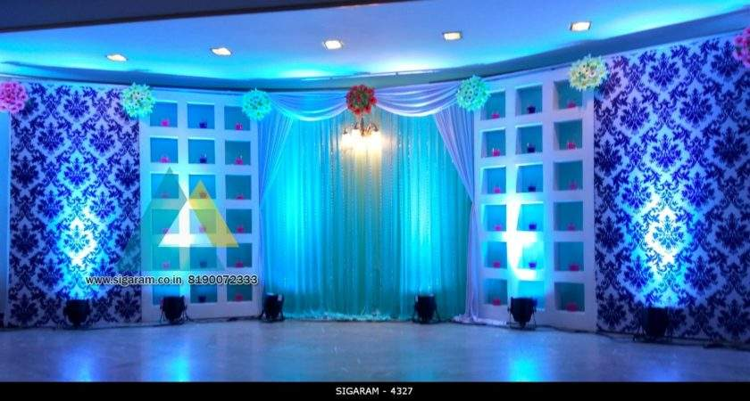 Wedding Reception Stage Decoration Royal Park Hotel