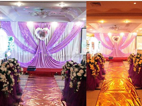 Wedding Stage Backdrop Decoration Indian Stages