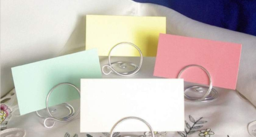 Wedding Table Place Setting Name Cards Holders