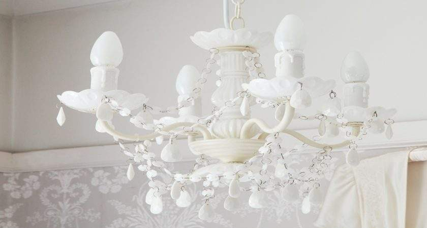 White Bedroom Chandelier Small
