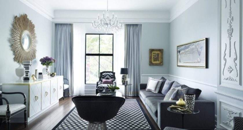 White Ceiling Gray Living Room Ideas Silver
