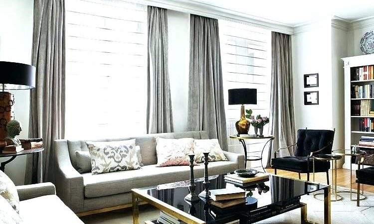 White Grey Silver Living Room Large