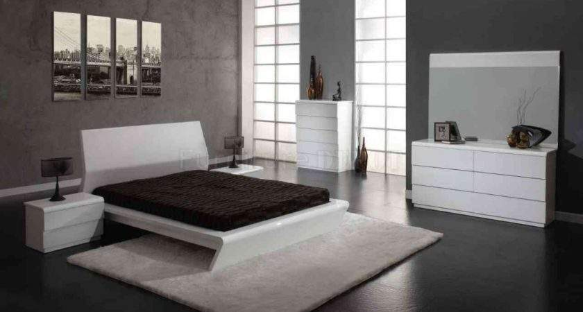 White High Gloss Bedroom Furniture Collections