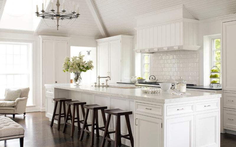 White Kitchen Decorating Ideas Mick Giulio Design