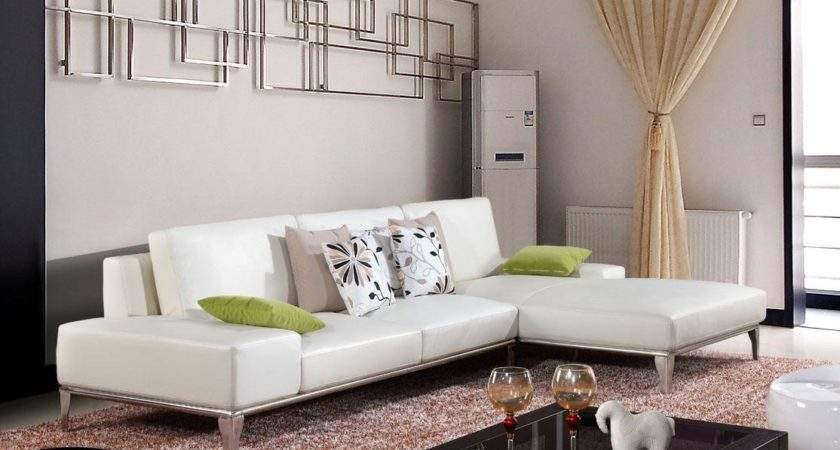White Leather Sofa Decorating Ideas Apartment Ealing Small