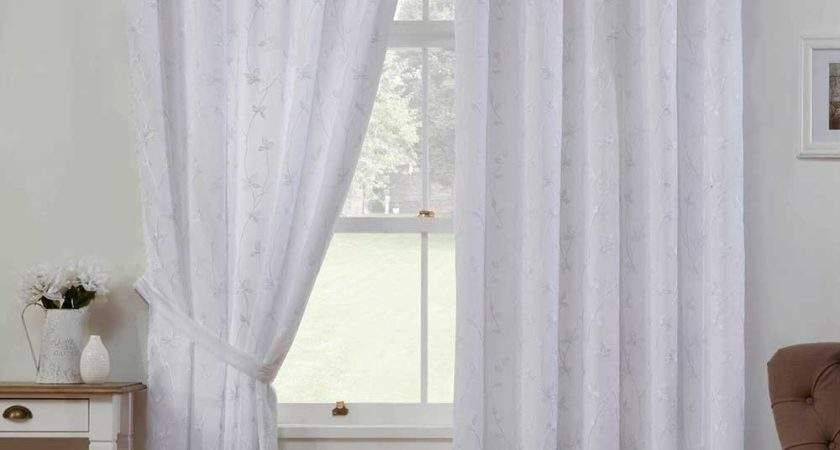White Lined Curtains Curtain Menzilperde