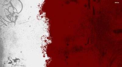 White Red Abstract Carlos Ceia