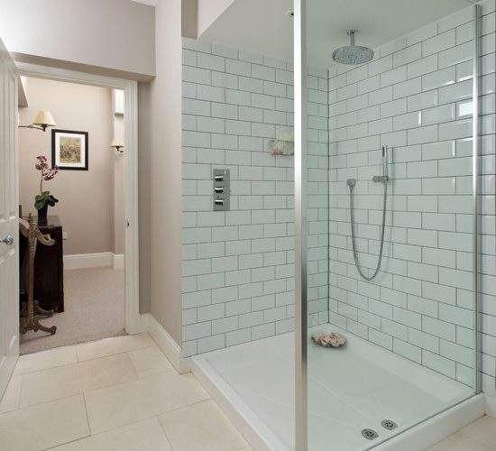 White Shower Room Housetohome