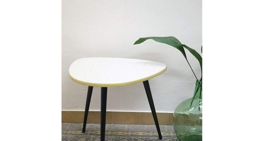 White Vintage Coffee Table Interieur