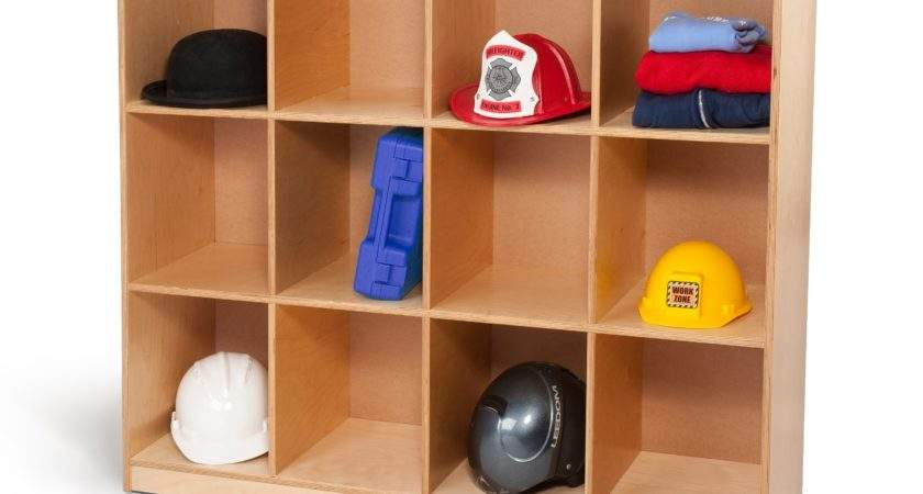 Whitney Brothers Backpack Storage Cabinet Toy