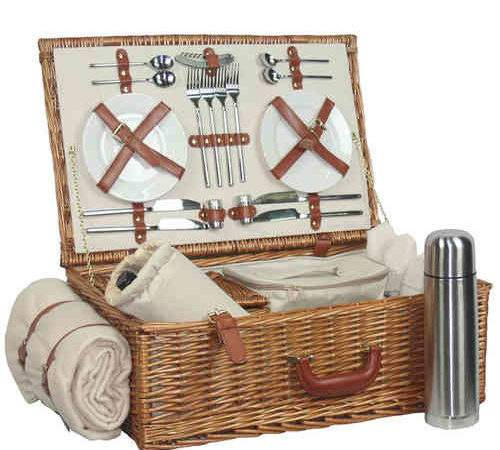 Willow Picnic Baskets Luxury Christmas Hampers