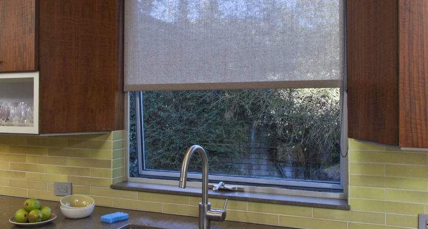 Window Covering Solutions Subtle Roller Shade Kitchen