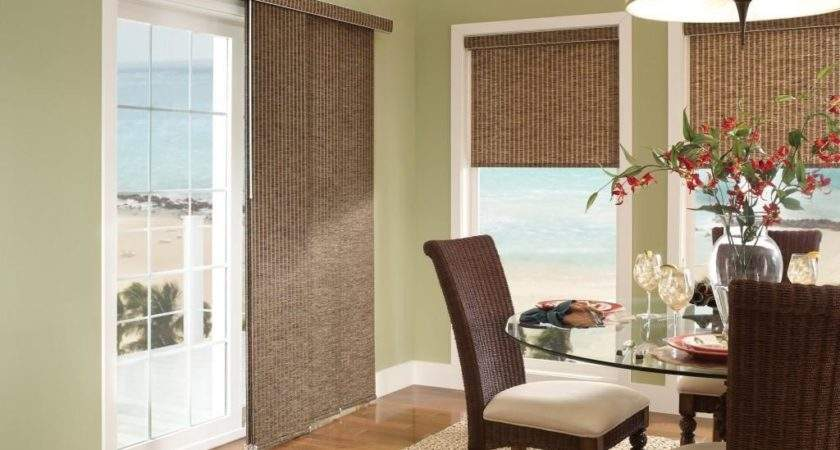 Window Dressing Ideas Sliding Doors Home Intuitive
