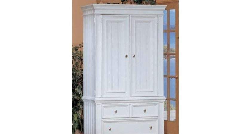 Winners Only Bedroom Cape Cod White Armoire Abn