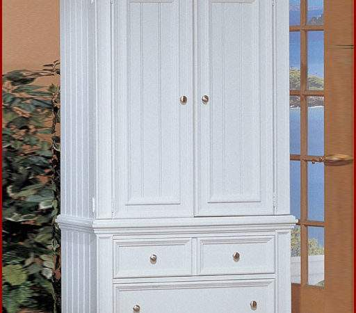 Winners Only White Armoire Cape Cod
