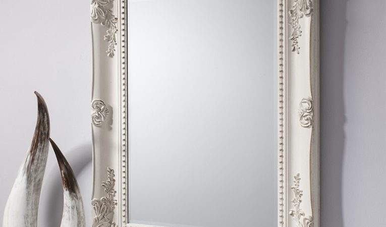 Winslet Baroque Shabby Chic Antique White Vintage Style