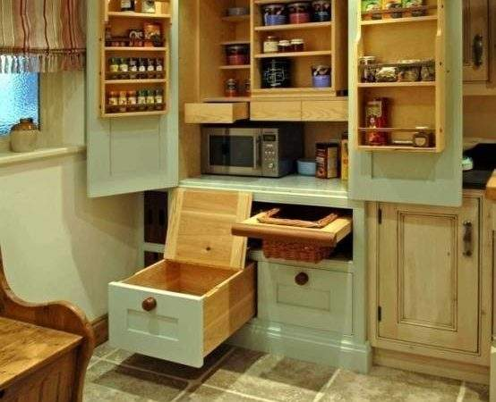 Wonderful Walk Pantry Design Ideas