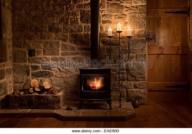 Wood Burning Stove House Photos