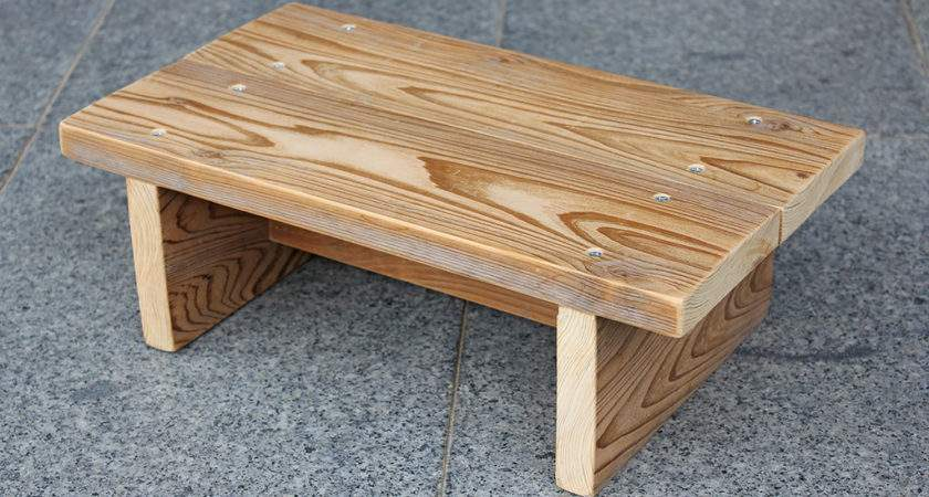 Wood Make Step Stool Out Pdf Plans