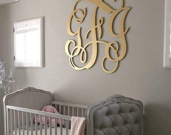 Wooden Monogram Large Wood Wall Hanging Letters