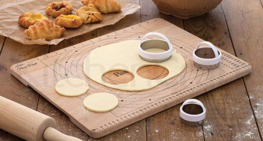 Wooden Pastry Board Measures
