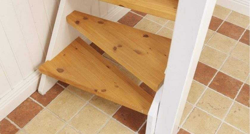 Wooden Staircase Small Spaces Home Style