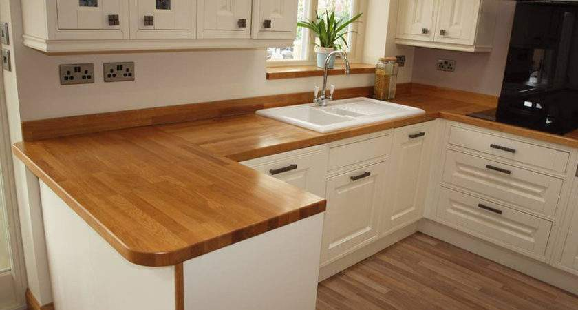 Wooden Work Surfaces Feature Our New Customer Kitchens