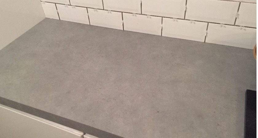 Worktop Brand New Grey Tectonica Square Edged