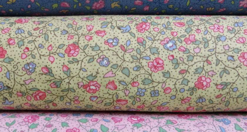 Yard Cotton Quilting Sewing Fabric Shabby Country