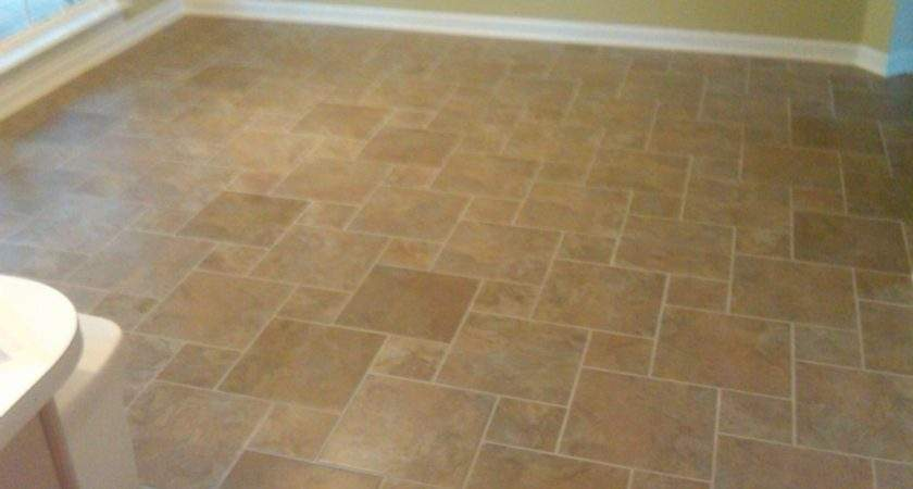 Yorke Reno New Tile Floor Laid Out Hopscotch